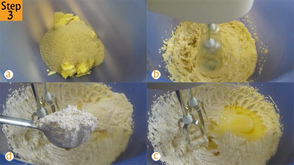Step 3 - Scrumptious vanilla cake