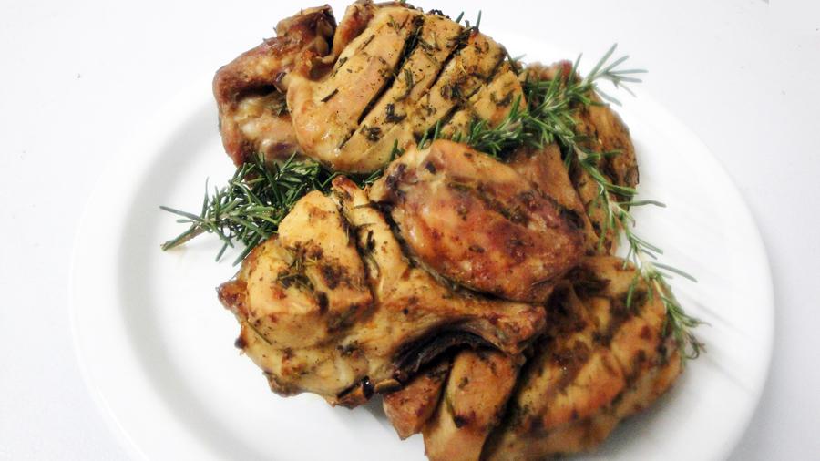 Grilled Rosemary and Garlic Chicken | ZimboKitchen.com