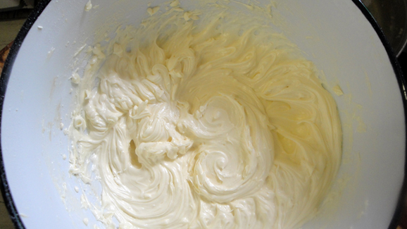 Your butter cream icing is ready!