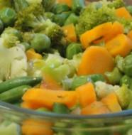 Crunchy veggies!