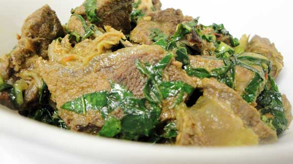 Beef stew nemuriwo ready!