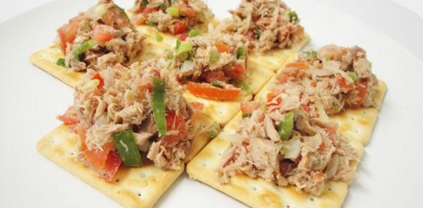 Tuna filling with Olive oil Seasoning - Zimbabwe cuisine
