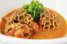 Maguru (beef tripe) chew