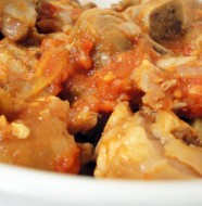 Good old stewed Pork trotters (mazondo)