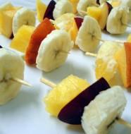 Mini fruit Kebab