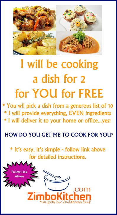 I want to cook for you!