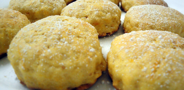 Mini Pumpkin (Manhanga) Scones