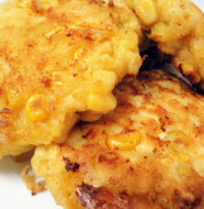 Corn and Cheese Fritters