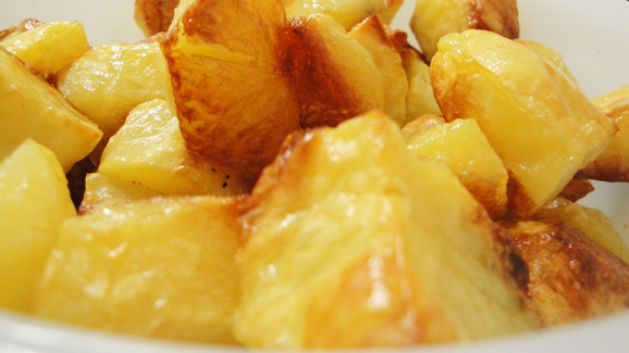 Plain Potatoes for change :)