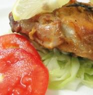 Grilled Honey and Lemon Crocodile Meat