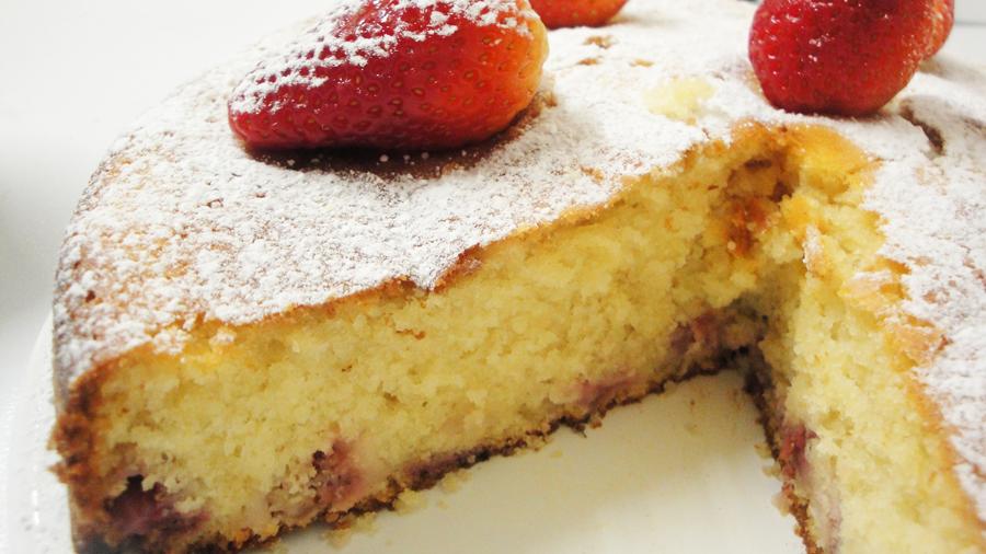 Buttermilk Creams With Strawberries Recipe — Dishmaps