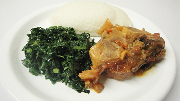 Serve with Sadza!