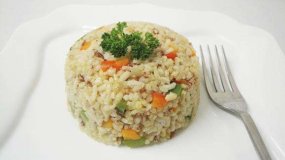 Zimbabwe-food-recipes---fried-brown-rice