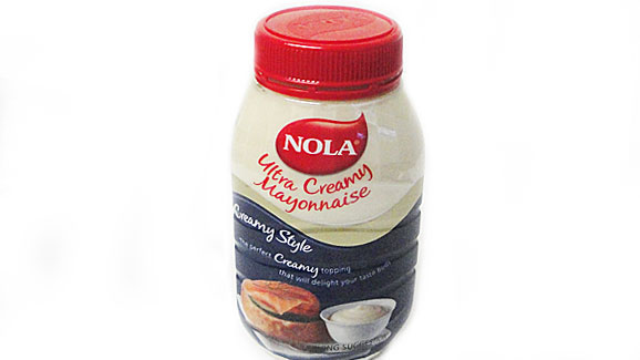 This is the Mayonnaise I used for this salad. Read my full review here