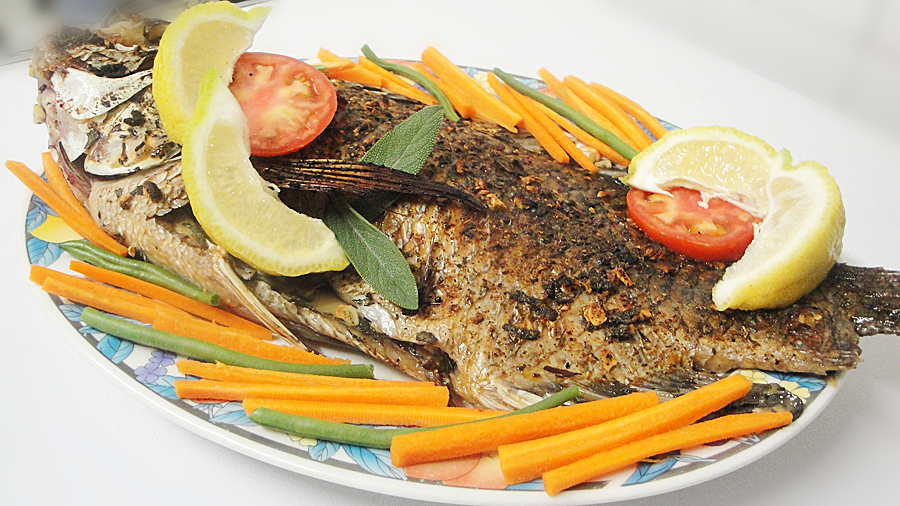 how to prepare bream fish