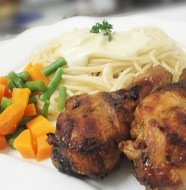 Zimbabbwe Chicken Recipes - Mastard and Syrup Drumstick