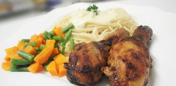 Zimbabbwe Chicken Recipes - Mastard and Syrup Drumstick