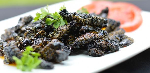 Sweet chilli lemon amacimbi mopane worms for Cuisine zimbabwe