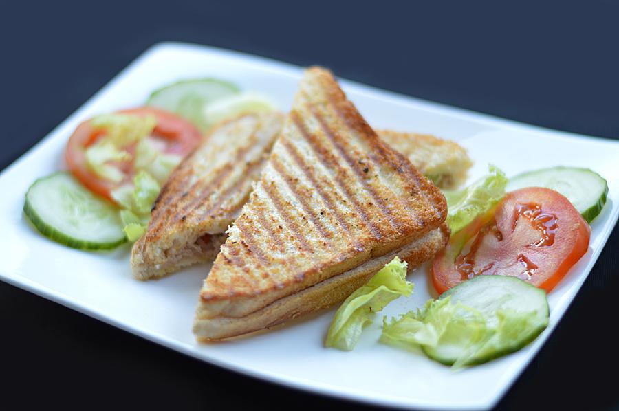 Pan-Grilled Tuna and Cucumber Sandwich | ZimboKitchen.com