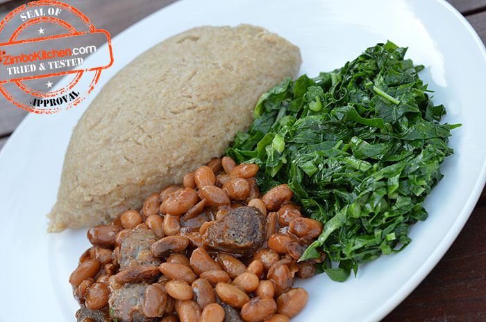 Traditional-Zimbabwean-Sadza-reGorosi-(Wheat)