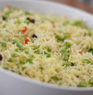 Curried Rice from Zimbabwe