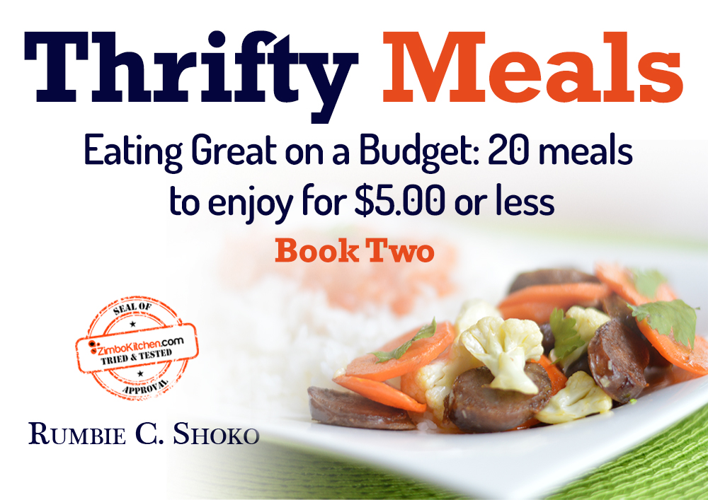 Thrifty Meals BOOK TWO