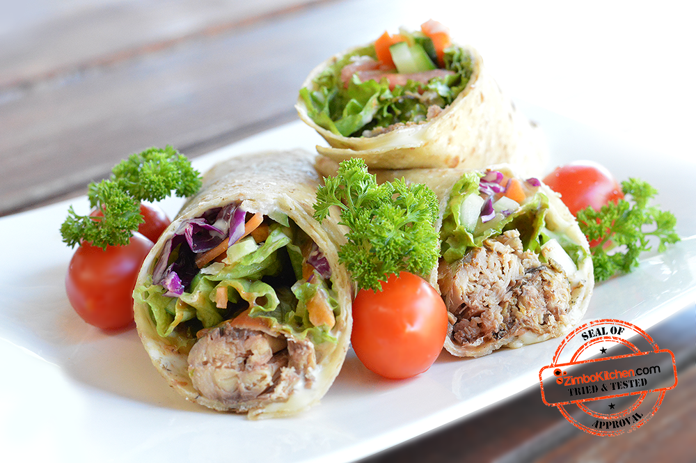 Zimbokitchen Pilchards Wraps