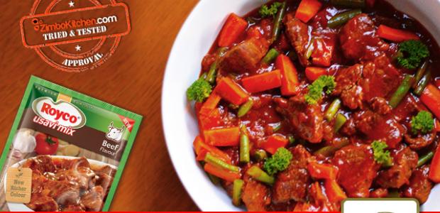 Hearty Royco Usavi Mix Beef Stew