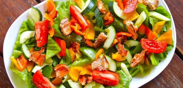 Pilchards Heart Healthy Salad