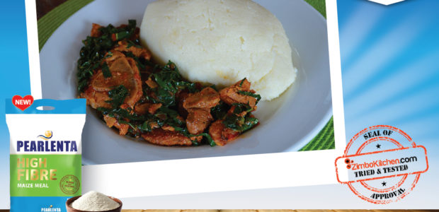 Pearlenta High Fibre Sadza with a touch of margarine