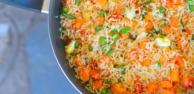 Vegetable Fried Rice in a few…